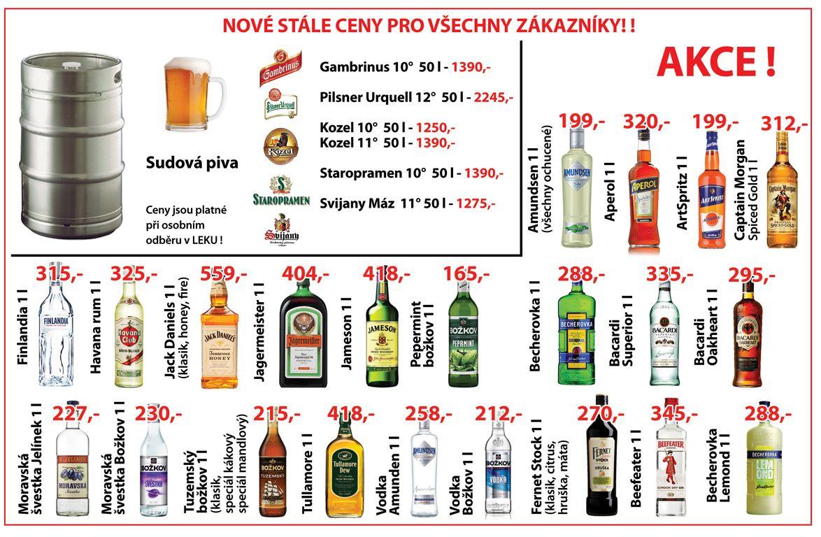 Nové stálé ceny pro všechny zákazníky